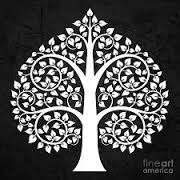 Buddhist leaf
